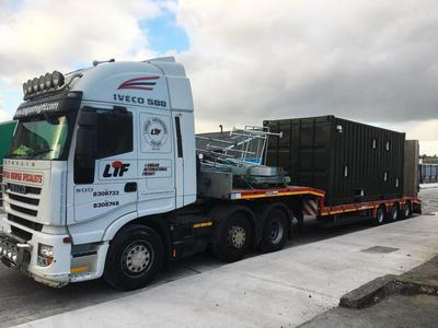 Pallet Distribution To Southern And Northern Ireland, The UK And Europe. Oversized or project cargo.